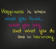 Happiness vector illustration