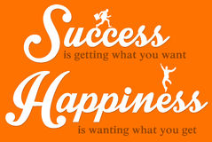 Happiness and success Royalty Free Stock Images