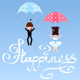 Happiness Stock Photography