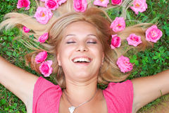 Happiness woman Stock Image