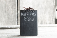 Happiness is you Stock Image