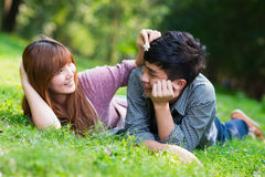 Happiness young couple Royalty Free Stock Photography