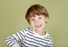 Happing, laughing, smiling child Stock Photo