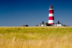 Happisburgh lighthouse Royalty Free Stock Images