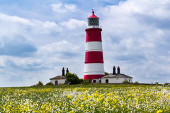 Happisburgh Lighthouse Norfolk Royalty Free Stock Images