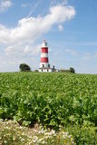 Happisburgh Lighthouse. In Norfolk, England Stock Photography