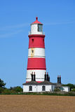 Happisburgh Lighthouse, Norfolk, England Royalty Free Stock Photography