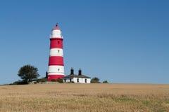 Wonderful coastal town of Happisburgh in Norfolk stock photography