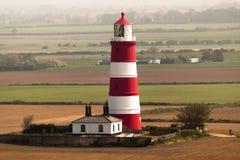Happisburgh Working Lighthouse Norfolk England stock photo