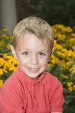 Happy. Young boy Stock Images
