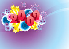 Happy 2009! Stock Images