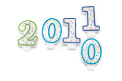 Happy 2011 Royalty Free Stock Image