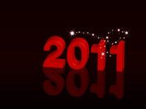 Happy 2011 Stock Photos