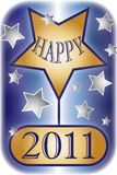 Happy 2011 Illustration Royalty Free Stock Images