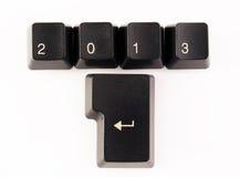 Happy 2013 Stock Images
