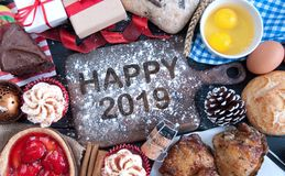 Happy 2019 royalty free stock images