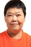 Happy 60s Senior Asian Woman Stock Photos