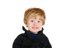 Happy. Young boy smiling Royalty Free Stock Photos