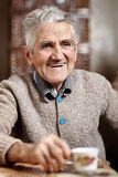 Happy 80 years old man Stock Image