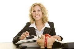 Happy Accounting Stock Photo