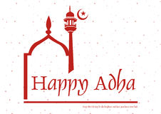 Happy Adha Stock Photography