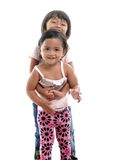 Happy adorable asian kids Stock Images