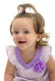 Happy Adorable Young Caucasian Girl Royalty Free Stock Photos