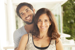 Happy adult couple Royalty Free Stock Photos