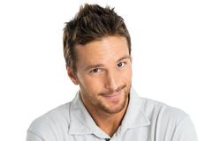 Happy Adult Man Smiling Royalty Free Stock Image