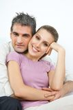 Happy Affectionate Couple Stock Photo