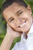 Happy African American Boy Child Stock Image