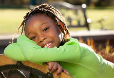 Happy African American Child Royalty Free Stock Photos