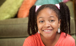 Happy African-American Child Stock Photos