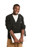 Happy African American College Student Stock Photography