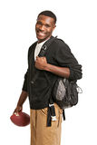 Happy African American College Student Royalty Free Stock Photography