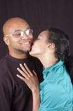 Happy african-american couple Royalty Free Stock Images