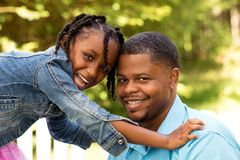 Happy African American Family. Stock Images