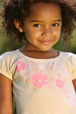 Happy African American Girl Royalty Free Stock Image