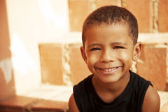Happy african american little boy Royalty Free Stock Photo