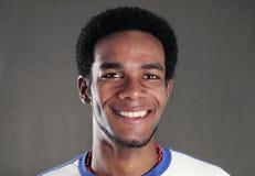 Happy african american man Stock Photo