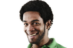 Happy african american man Stock Image