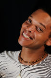 Happy african american man Stock Photos