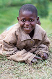 Happy african child royalty free stock photography