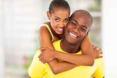 Happy african couple Royalty Free Stock Photo