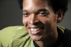 Happy african man Stock Photo