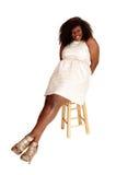 Happy African woman portrait. Stock Images