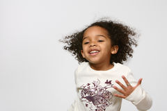 Happy Afro Child Stock Photos