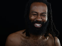 Happy Afro Man Royalty Free Stock Photography