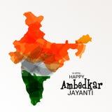 Happy Ambedkar Jayanti. Illustration of a Banner for Happy Ambedkar Jayanti Stock Images