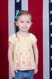 Happy American Girl Stock Photos